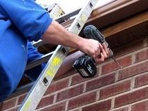 Wall bolt installation -  Step 1
